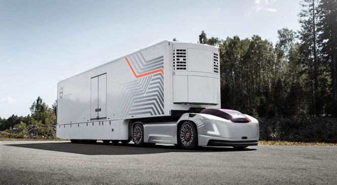 Grupo Volvo cria área de negócios para soluções em transporte autônomo