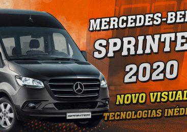 [VÍDEO] Nova Mercedes-Benz Sprinter 2020