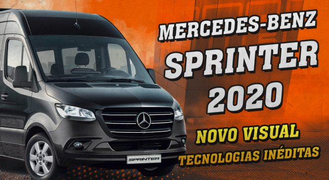 [VÍDEO] Nova Mercedes-Benz Sprinter 2020