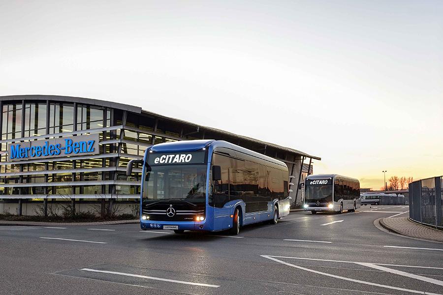 Mercedes-Benz comemora marco histórico de 55.555 ônibus urbanos da linha Citaro produzidos