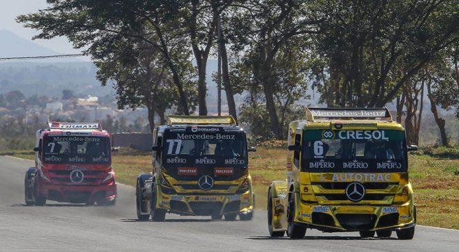Motor Mercedes-Benz de 1.250 cavalos é a força da AM Motorsport na final da Copa Truck