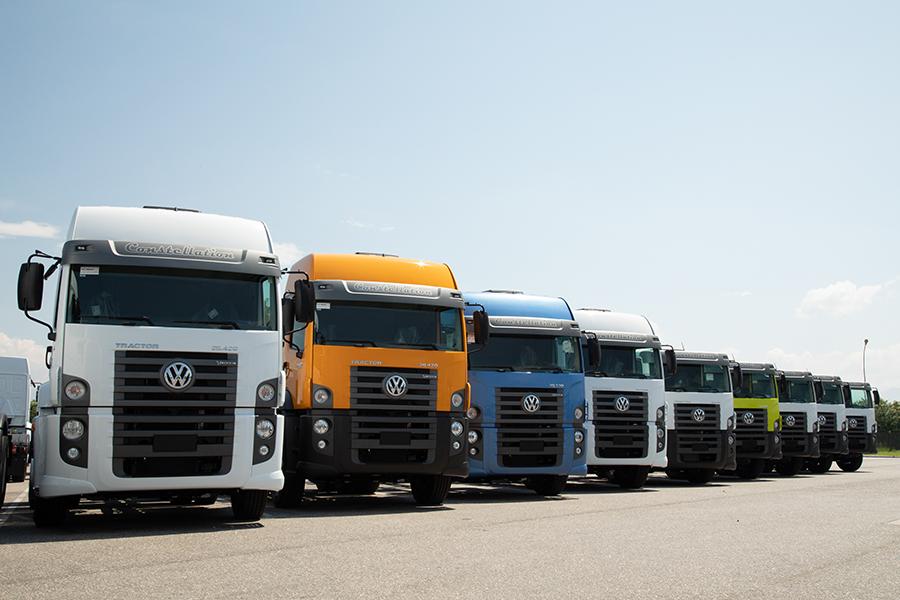 Volkswagen entrega mais de 1.500 caminhões para transporte de bebidas na América Latina