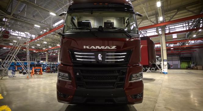 KamAZ revela como será o seu caminhão do futuro com inteligência artificial