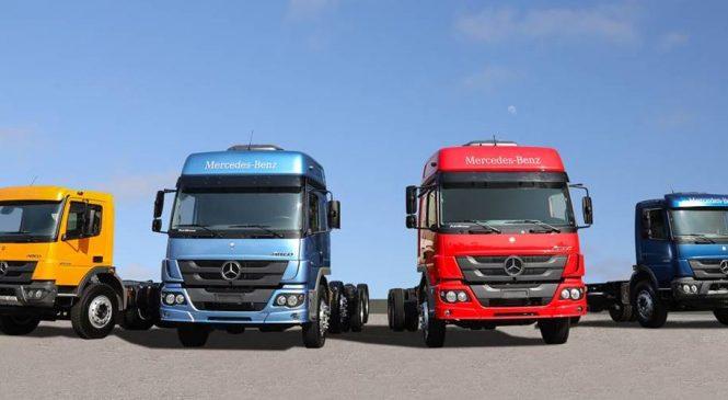 Mercedes-Benz aumenta em 50% as vendas de caminhões Atego em Pernambuco