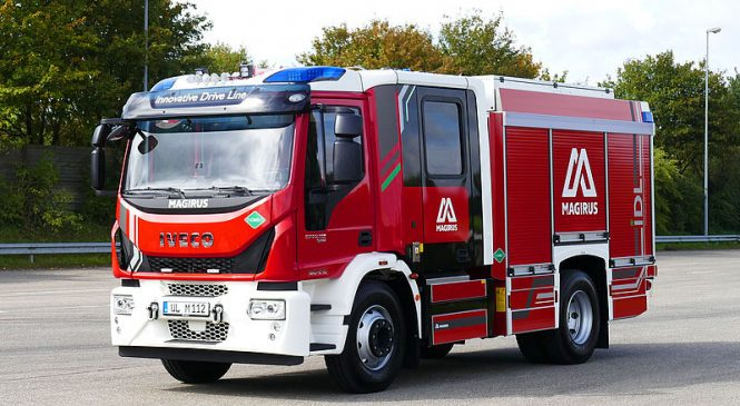 Magirus lança caminhão de bombeiro movido a gás