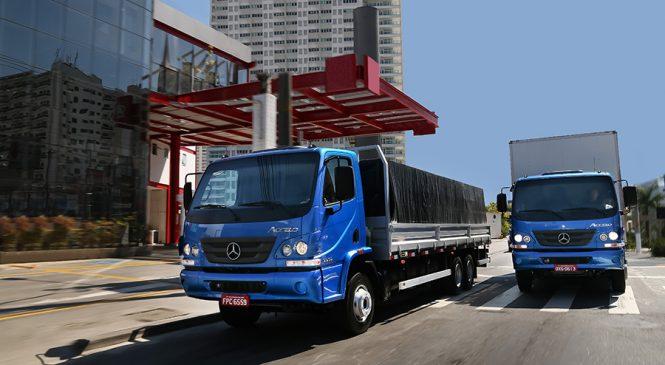 Linha Accelo traz nova relação de eixo traseiro e mais rentabilidade para transportador
