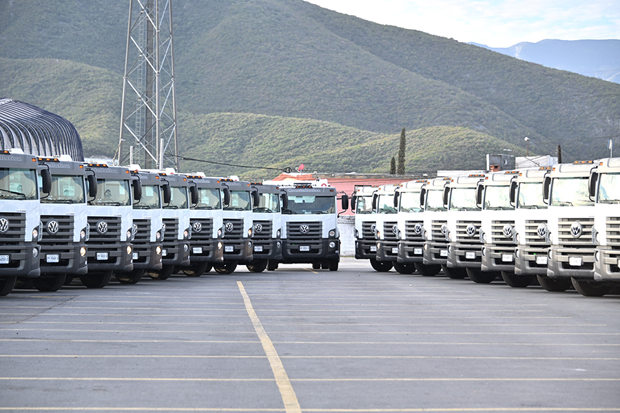 Volkswagen Caminhões e Ônibus entrega mais de 30 veículos à mexicana Veolia
