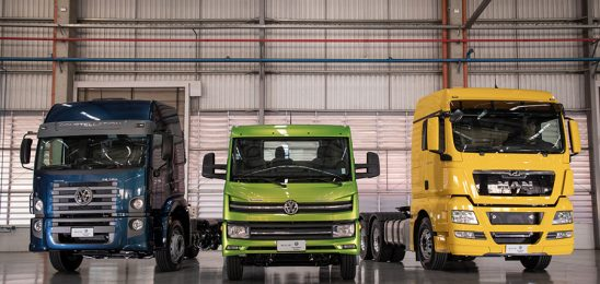 Grupo TRATON: alta significativa de veículos de suas marcas em 2019