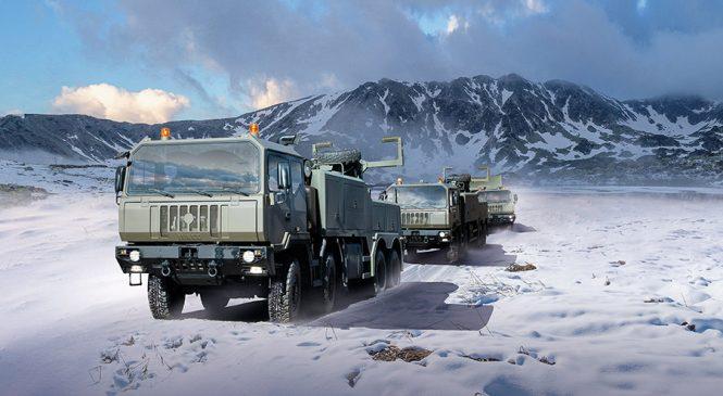 Iveco Defence Vehicles fornecerá 2.900 caminhões às Forças Armadas da Romênia