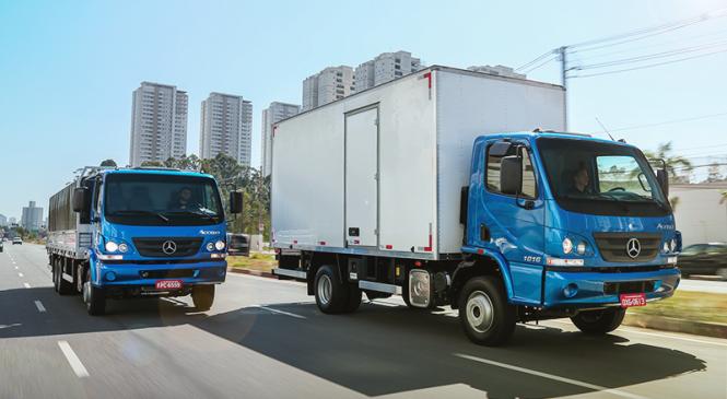 Mercedes-Benz lança plano inédito de consórcio para caminhões Accelo