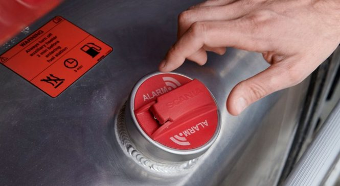 Scania apresenta alarme contra roubo de combustível