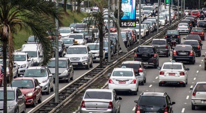 Rodízio municipal de veículos em São Paulo volta a vigorar nesta 2ª feira