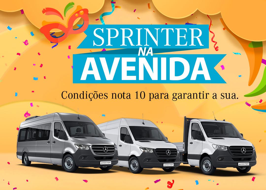 Mercedes-Benz oferece condições especiais para vendas de Sprinter