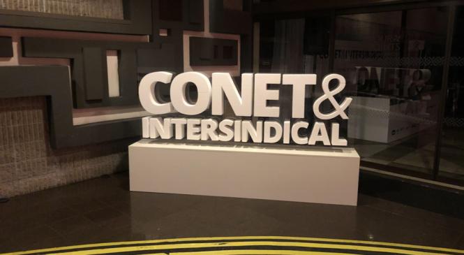 Começa hoje em Curitiba a primeira edição do CONET&Intersindical de 2020