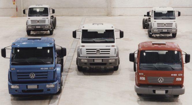 Série 2000 de caminhões Volkswagen: há 20 anos, o primeiro sucesso em Resende (RJ)