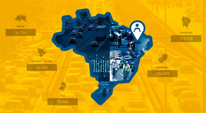 Nordeste concentra maioria das indenizações de Seguro DPVAT de 2019
