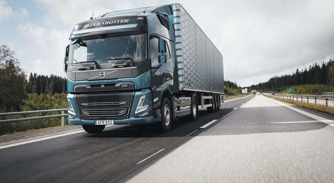 Volvo apresenta na Europa nova geração dos caminhões FH, FM e FMX