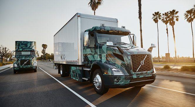 Volvo promove demonstração de caminhões pesados elétricos nos Estados Unidos