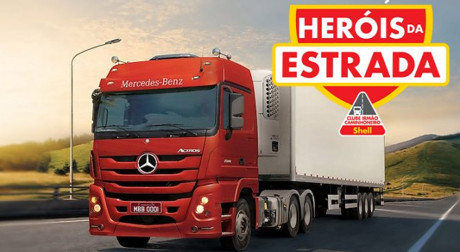 Marca Shell sorteará um caminhão Mercedes Benz 0km