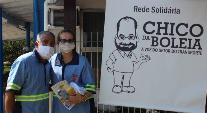 Rede Solidária Chico da Boleia realiza ações de apoio aos caminhoneiros em celebração ao Dia do(a) Motorista