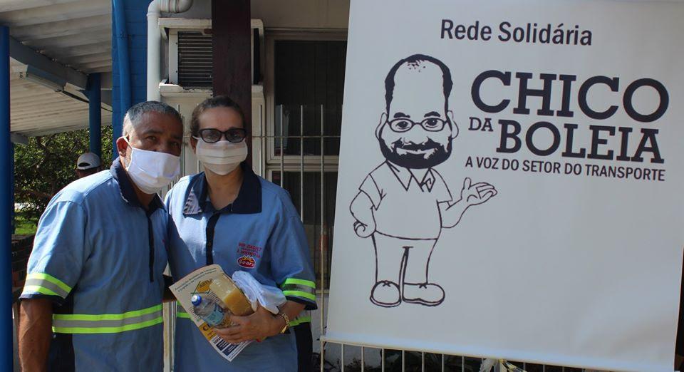 Rede Solidária Chico da Boleia no combate ao coronavírus