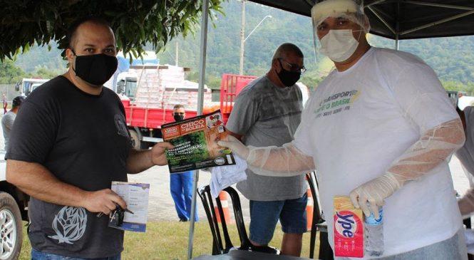 Rede Solidária Chico da Boleia e APVS realizam ação nacional em apoio aos caminhoneiros