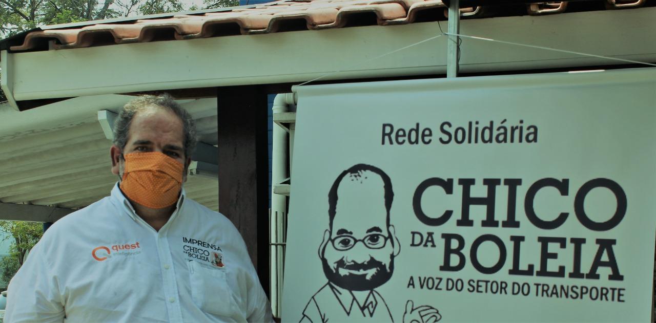 Ajude a Rede Solidária Chico da Boleia a doar alimentos para caminhoneiros em situação de vulnerabilidade