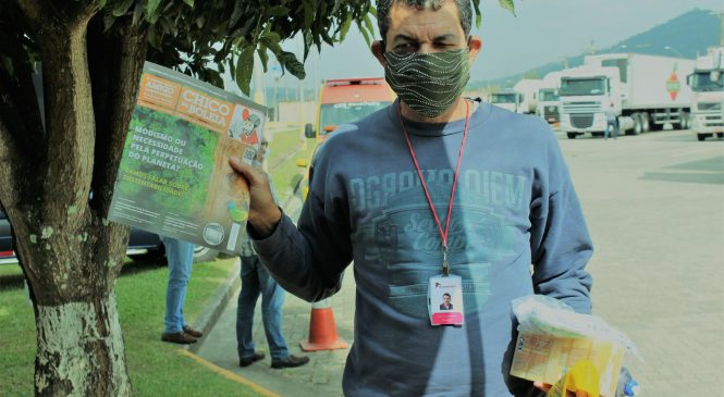 Rede Solidária Chico da Boleia realiza ação de combate ao coronavírus em Mogi-Mirim