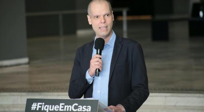 Bruno Covas anuncia retomada do rodízio tradicional de veículos em São Paulo