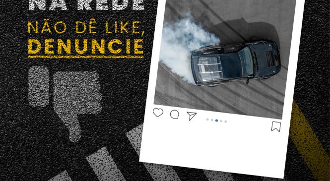 Campanha inédita estimula denúncias aos crimes de trânsito
