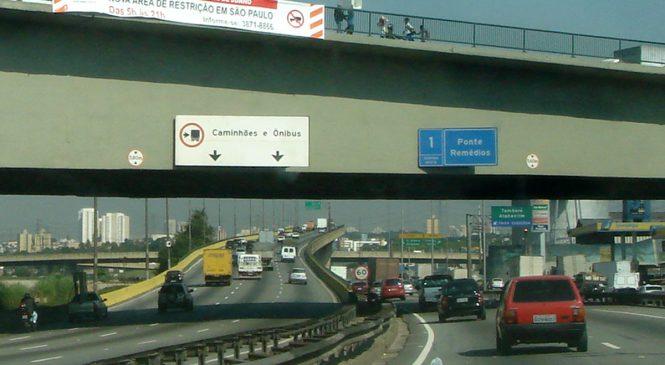 São Paulo retoma e amplia rodízio de veículos para conter coronavírus