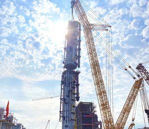 XCMG Machineries completa vários projetos de construção batendo recordes mundiais