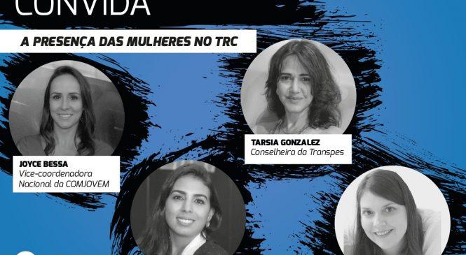 Live debate a participação de mulheres no TRC
