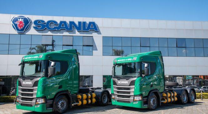 Scania entrega caminhões a gás natural e biometano e vê potencial no mercado agro