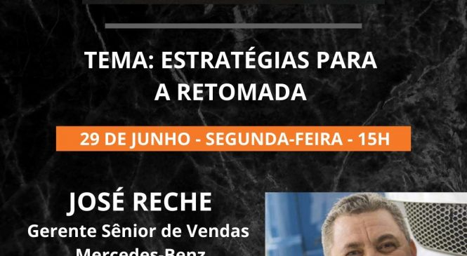 Live Chico da Boleia recebe José Reche, da Mercedes-Benz