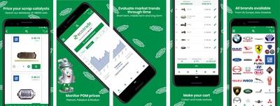 Grupo Ecotrade se destaca com o seu aplicativo de precificação de catalisadores automotivos usados