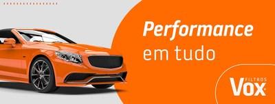 """Vox """"Performance em tudo"""""""