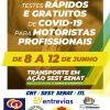 Rede Solidária Chico da Boleia se une ao Sest Senat em apoio aos caminhoneiros