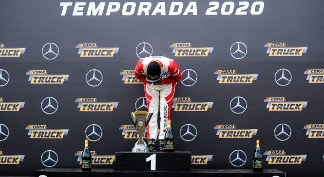Beto Monteiro é o primeiro campeão de 2020 da Copa Truck