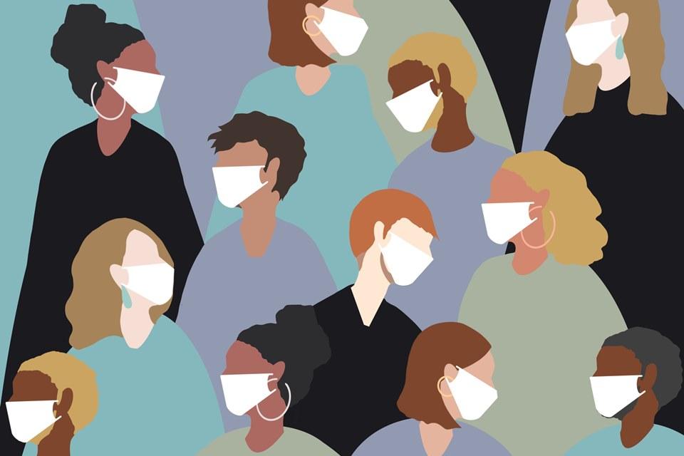 É #FAKE que máscaras são inócuas e podem causar infecção na garganta