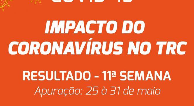 Demanda por transporte rodoviário de cargas no Brasil tem melhora semanal, revela pesquisa do DECOPE