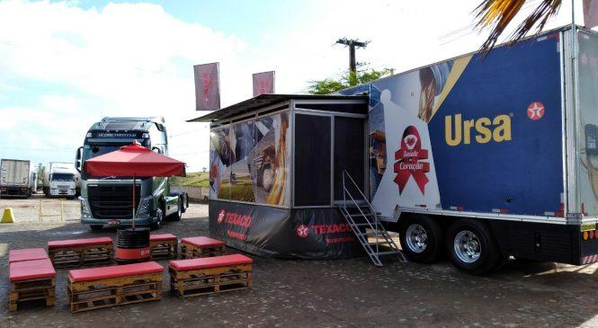 Carreta Texaco chega a Santos para atendimento a caminhoneiros na prevenção ao Covid-19