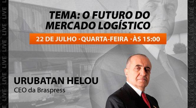 Live Chico da Boleia recebe Urubatan Helou, CEO da Braspress