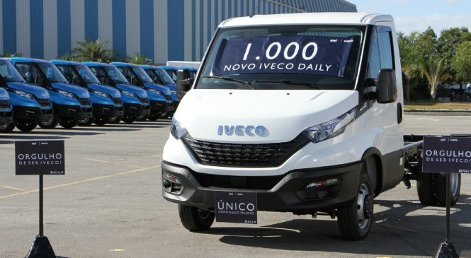 Milésima unidade do Novo IVECO Daily é produzida em Sete Lagoas (MG)