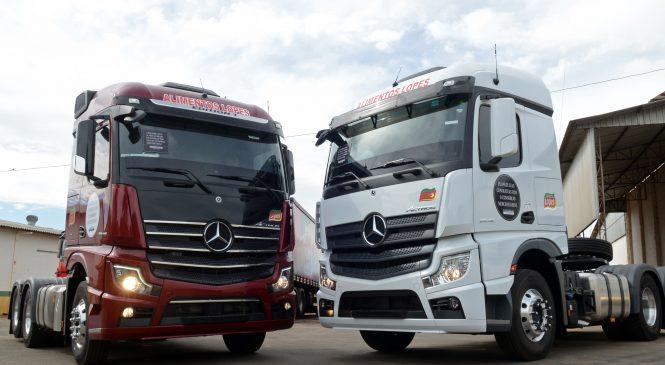 Mercedes-Benz inicia as entregas do Novo Actros pelo Brasil