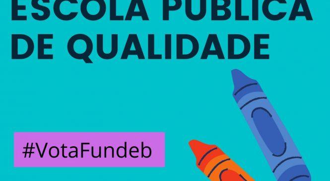 Em votação no Congresso, FUNDEB é recurso fundamental para a educação pública de nível básico no Brasil