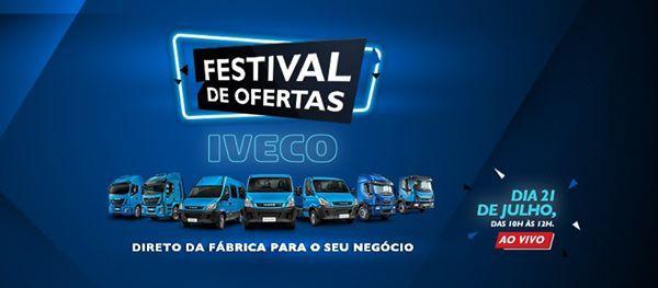 IVECO realiza primeiro Festival de Ofertas online