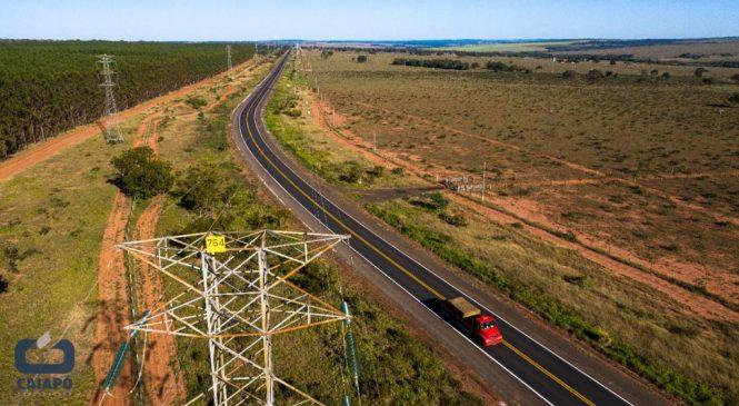 Governo Federal entrega mais 25 quilômetros de pista recuperada na BR-262/MS