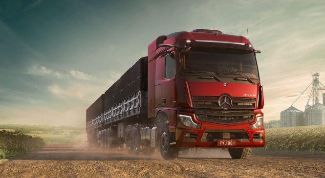 Novo Actros da Mercedes-Benz é eleito o melhor caminhão do ano