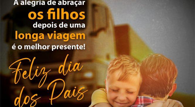 A todos os caminhoneiros, uma homenagem ao dia dos pais